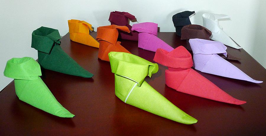 Awesome pliage de serviettes pour noel ideas amazing - Deco serviette papier ...
