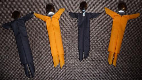 Le pliage de serviette de dernire minute - Femme Actuelle